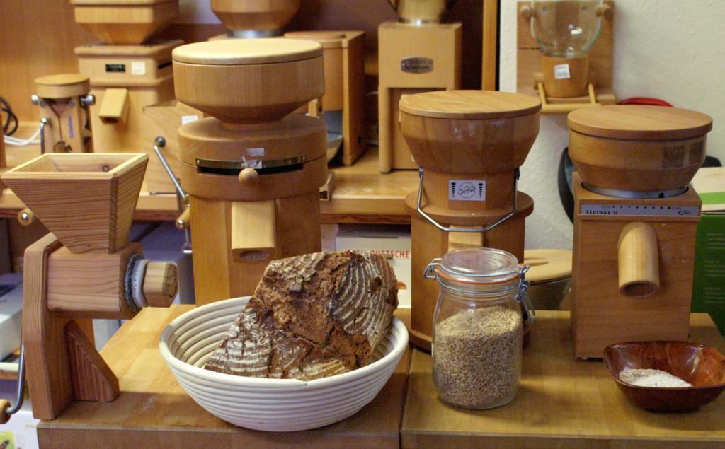 Unser Mühlenstudio -Gesunde Ernährung mit volles Korn!