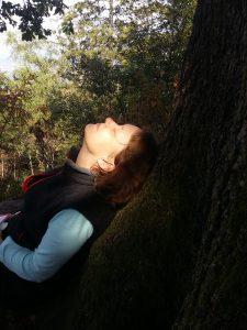 Waldbaden in Beilstein mit Nicole Sach.