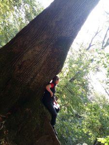 Waldbaden in Beilstein mit Nicole Sach